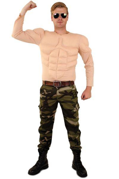 Starkes Bodybuilderhemd