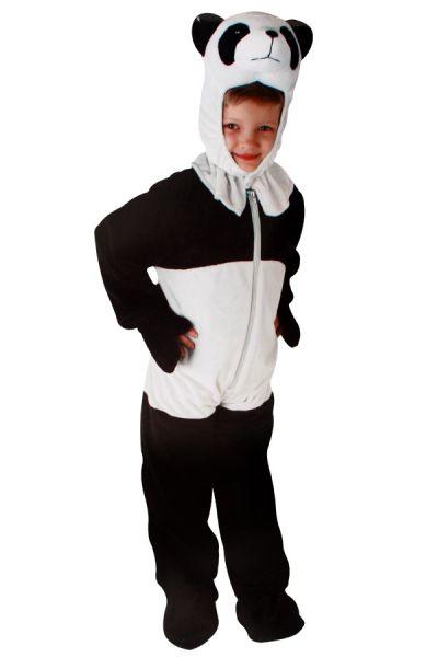 Panda Kostüm Plüsch Kinder