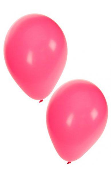 Rosa Heliumballons