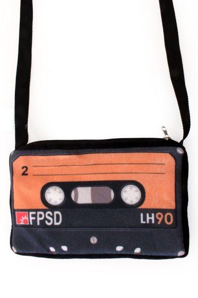 Handtasche 80er Jahre Kassette