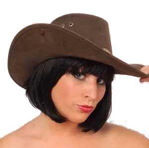 Cowboyhut Nevada leatherlook