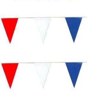 Bunting rot weiß blau 60m Niederlanden