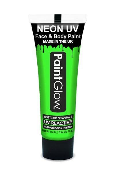 PaintGlow neon UV Schminke Grün
