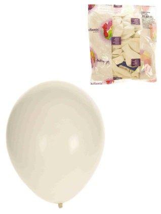 Heliumballone Weiß 100 Stück