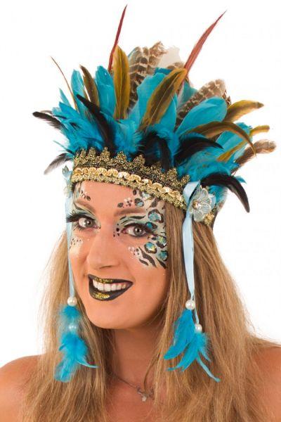 Indianer Tanz Federschmuck Wichita