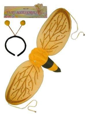 Bienen Flügel mit Diadem