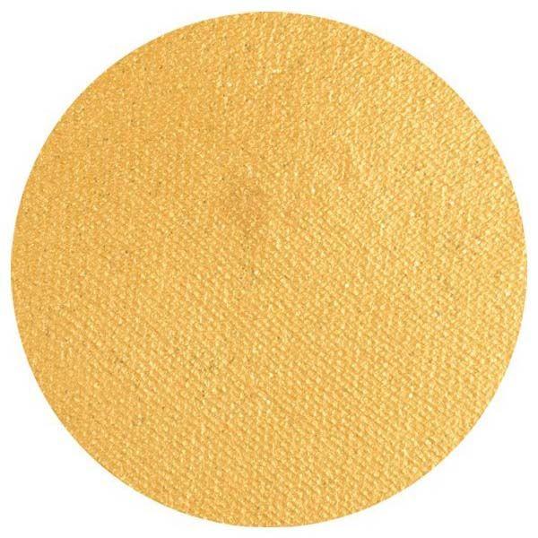 Superstar Schminke Farbe 066 Gold mit Glitzer Shimmer