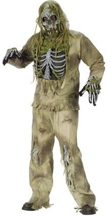 Halloween gruselige Zombie-Outfit