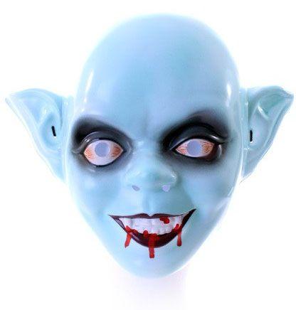 Zombie Maske Kind mit blutigem Mund