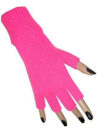 Fingerloser Handschuh Pink