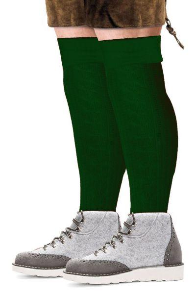 Oktoberfest Tiroler Socken lang grün