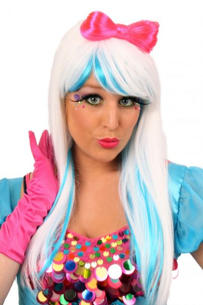 Perücke miss Gaga