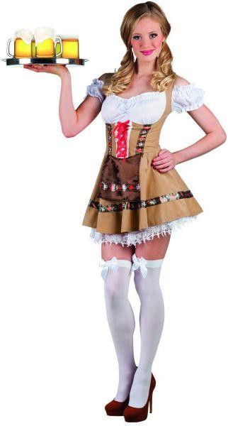 Oktoberfest Dirndlkleid Tiroler Mädschen Alpine