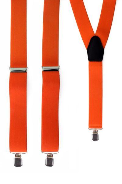 Hosenträger Farbe orange