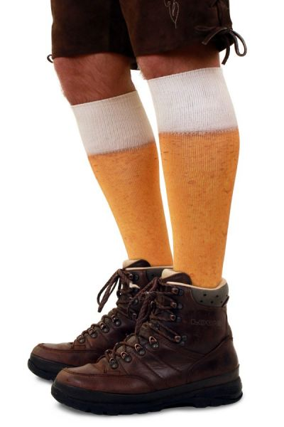 Oktoberfest Bier Fußball Socken