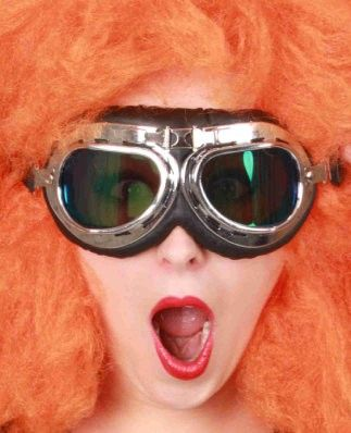 Rennbrille Pilotenbrille für Erwachsene