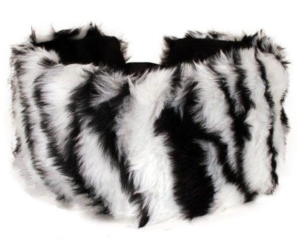 Kopf- Haarband Zebra