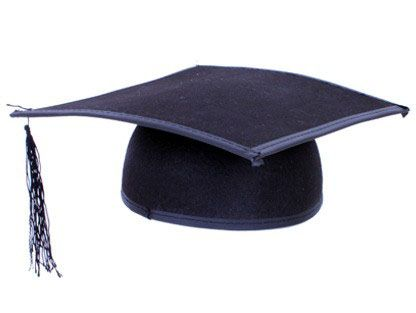 Doktor Professor Hut Abschlussfeier Abschlussball Hut