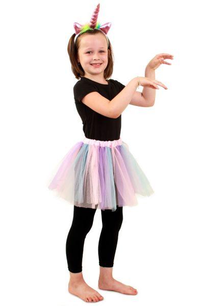 Tüllrock Pastell Einhorn Unicorn Mädchen
