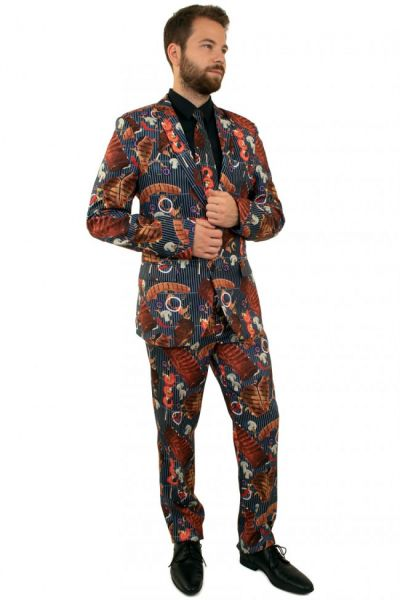 Lustiges 3-teiliges BBQ kostüm