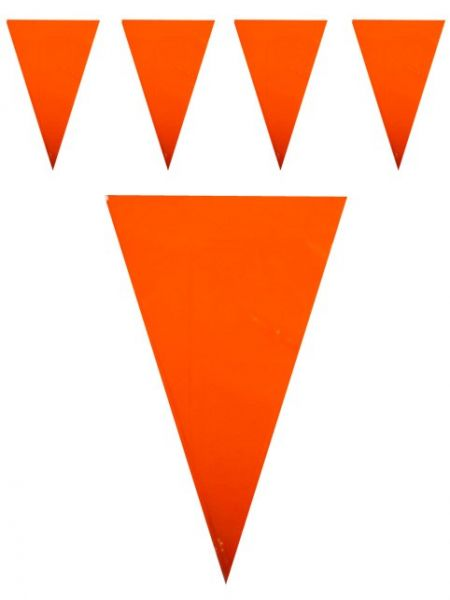 Bunting Orange 120m