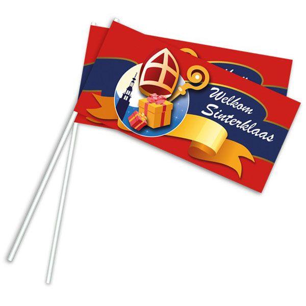 Wehende Flagge Sinterklaas 50 Stück