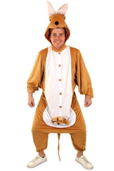 Kangaroo Tiere Kostüm Anzug