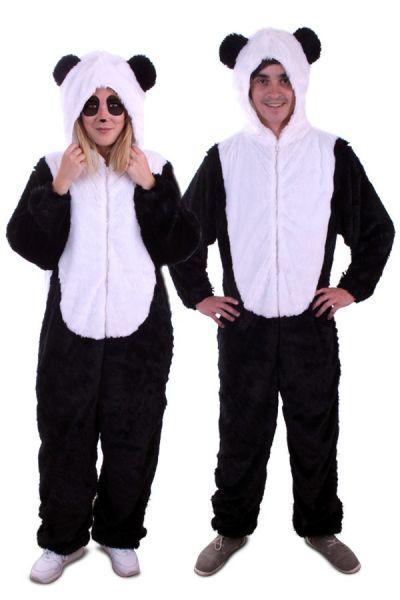 Tierkostüm Panda Plüsch