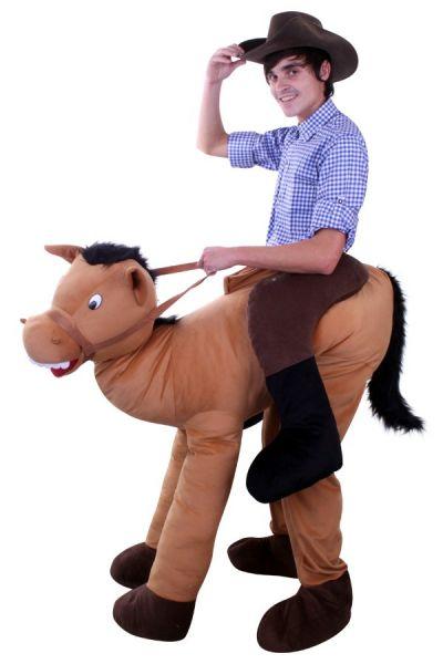 Reiten auf einem Pferd Tierkostüm