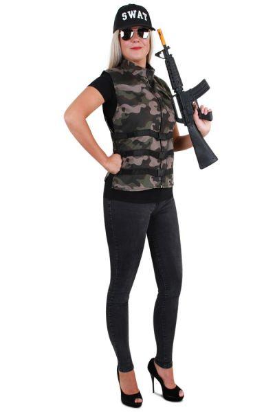 Robuste Camouflage Damen Weste