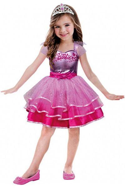 Barbie rosa Ballettkleid Mädchen