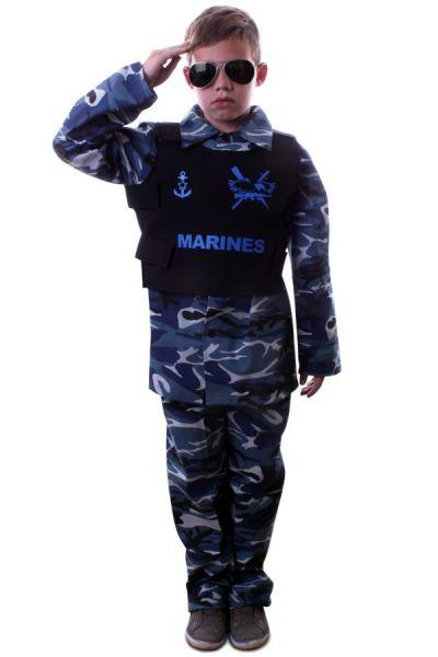 Marine Tarnung Outfit Kind