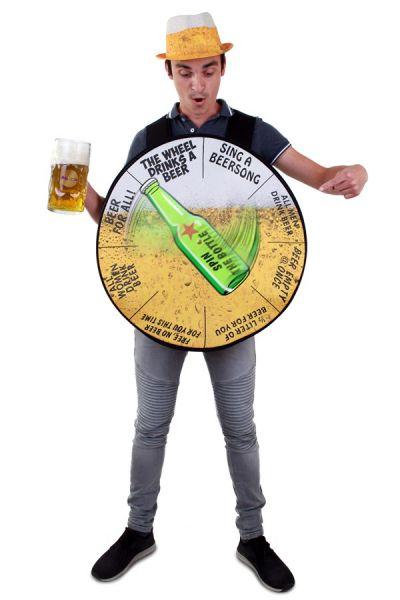 Junggesellenabschied Bier Rad Kostüm JGA