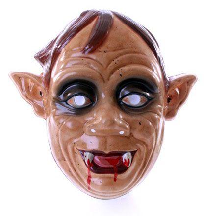 Zombiemaske mit spitzen Ohren