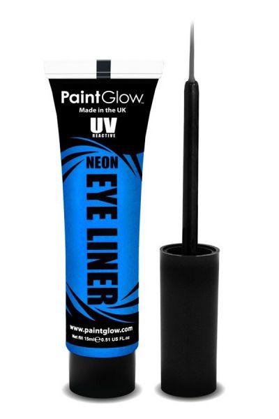 PaintGlow NEON UV Eyeliner blau