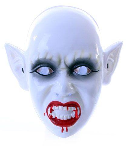 Zombiemaske mit blutigem Mund