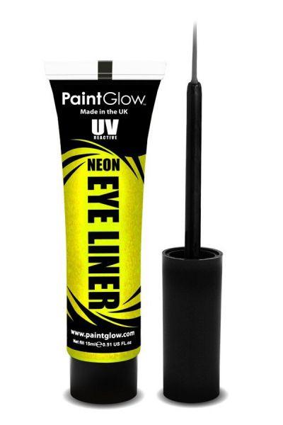 PaintGlow NEON UV Eyeliner gelb