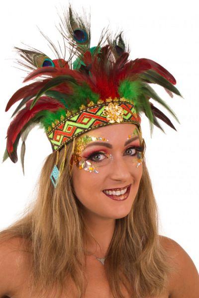 Indianer Tanz Federschmuck Comanche