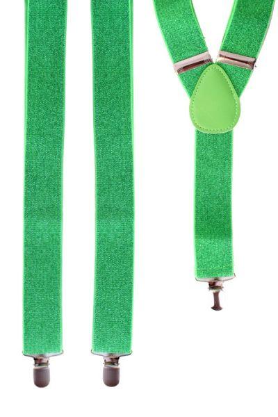 Straps grün mit Glitzer