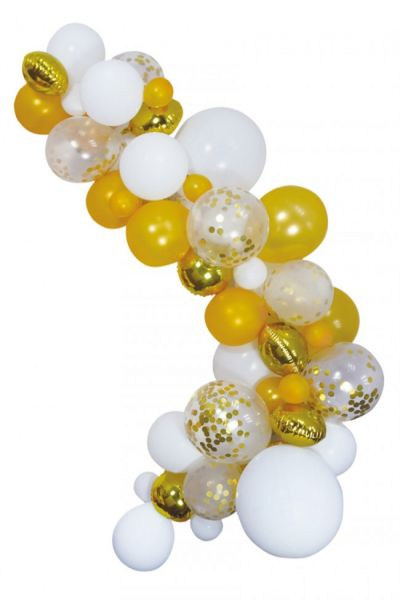 Luftballons Dekoration Kit Gold