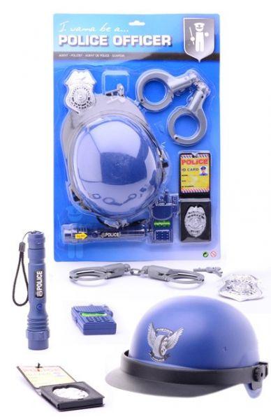 Polizei-Ausrüstung Spielset