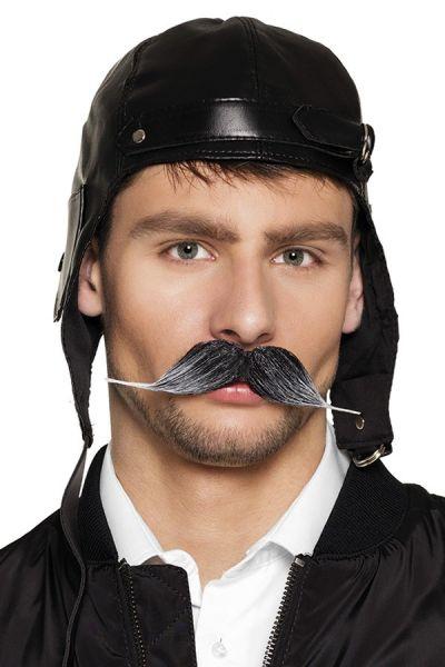 Pilot Schnurrbart grau
