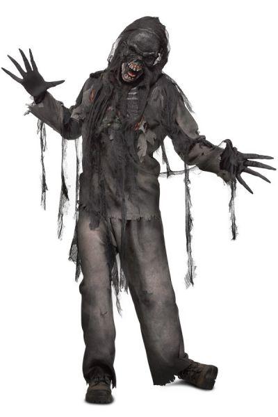 Halloween-Kostüm verbrannter Zombie Horror-Kostüm