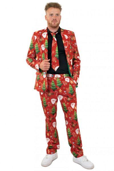 Dreiteiliges Weihnachtskostüm
