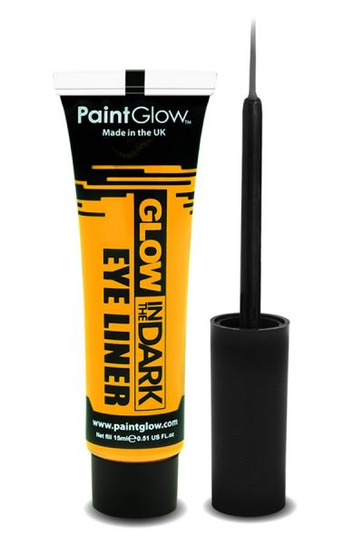 Glow in the dark eyeliner UV neon gelb