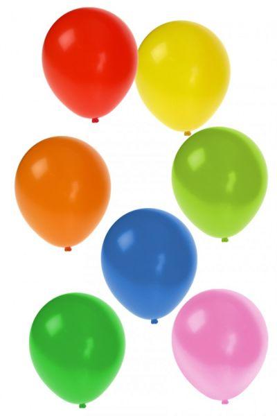 Luftballons Verschiedene Farben 100 Stück nr. 9