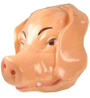 12 Schweinemaske für Erwachsene