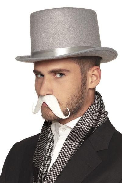 Weißer Schnurrbart Graf