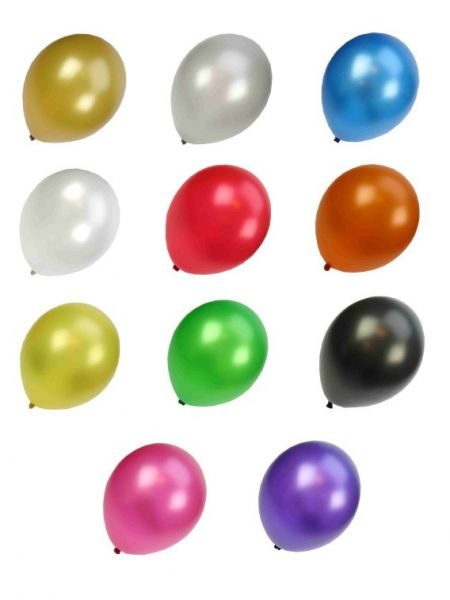 Qualität Balloon sortiert Metallic-Farben