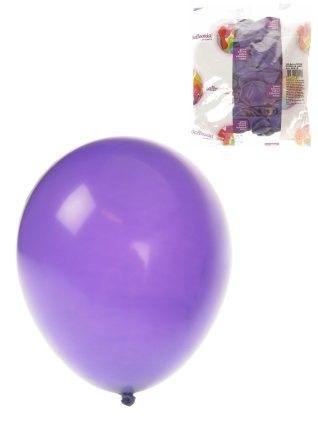 Lila Heliumballons 100 pack